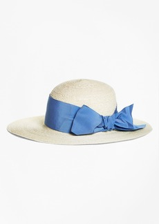 Brooks Brothers Straw Sun Hat