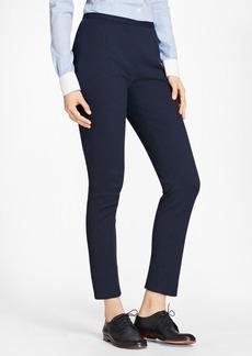 Brooks Brothers Stretch Cotton Jacquard Slim-Fit Pants