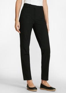 Brooks Brothers Stretch Cotton Pique Ankle Pants