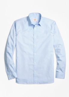 Brooks Brothers Stripe Cotton Poplin Nine-to-Nine Shirt
