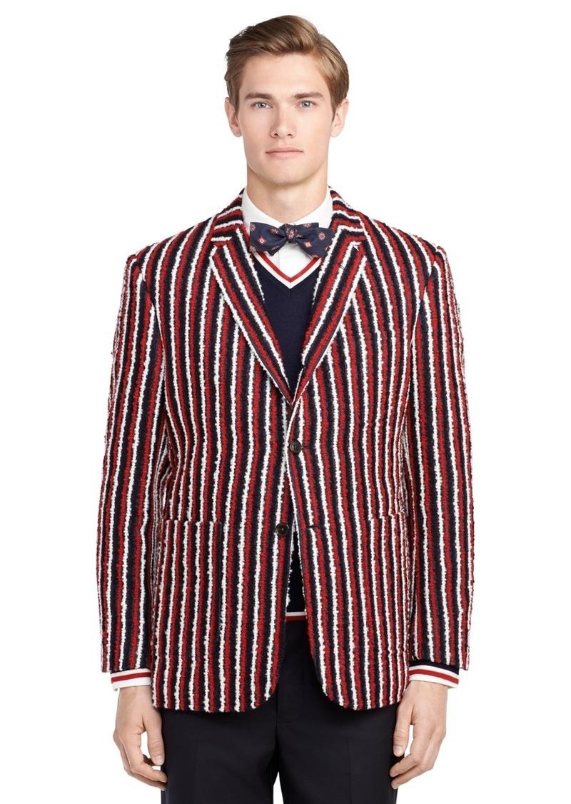 Brooks Brothers Stripe Wool Sport Coat