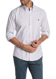 Brooks Brothers Striped Long Sleeve Regent Fit Shirt