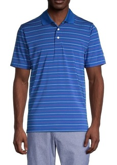 Brooks Brothers Striped Short-Sleeve Polo