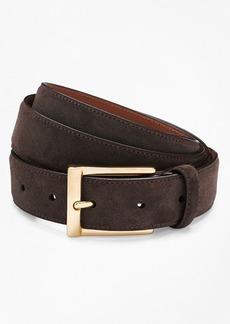 Brooks Brothers Suede Dress Belt