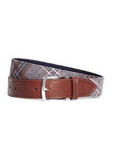 Brooks Brothers Tartan Belt
