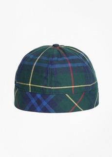 Brooks Brothers Tartan Wool-Blend Cap