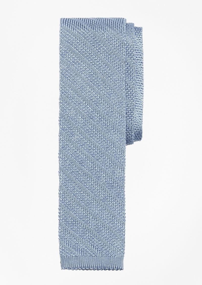 Brooks Brothers Textured Stripe Knit Tie