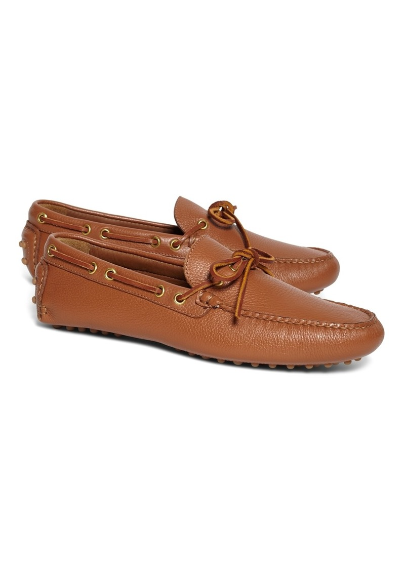 aaf21f94900 SALE! Brooks Brothers Tie Driving Moccasins