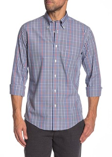 Brooks Brothers Trim Fit Large Check Dress Shirt