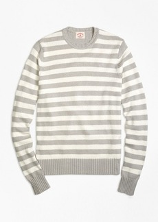 Brooks Brothers Variegated Stripe Crewneck Sweater
