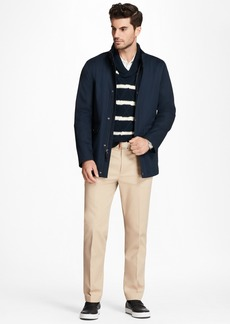 Brooks Brothers Water-Repellent Cotton Walking Coat