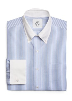 Brooks Brothers Wide Stripe French Cuff Shirt