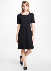 Brooks Brothers Inverted-Pleat Dress
