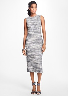 Brooks Brothers Sleeveless Marled Sweater Dress