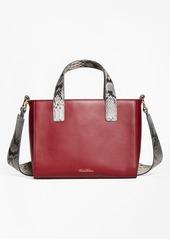 Brooks Brothers Leather Satchel Bag