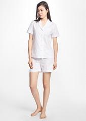 Brooks Brothers Logo-Print Cotton Pajama Set
