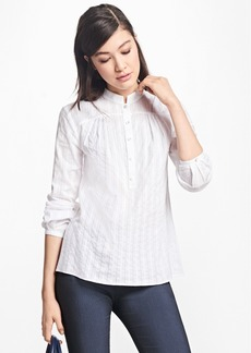 Brooks Brothers Cotton Poets Blouse