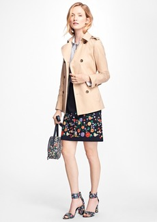 Brooks Brothers Water-Repellent Cotton-Twill Trench Coat