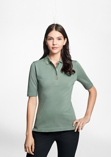 Brooks Brothers Slim-Fit Cotton Pique Polo