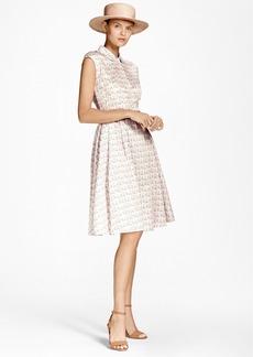 Brooks Brothers Floral Cotton-Sateen Shirt Dress