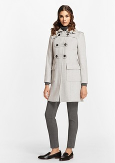 Brooks Brothers Wool-Cashmere Duffle Coat