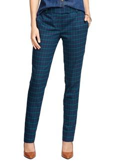 Brooks Brothers Wool Stretch Plaid Pants