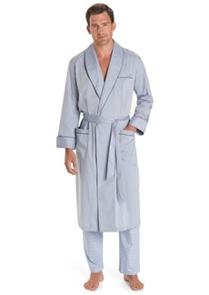 Brooks Brothers Wrinkle-Resistant Chambray Robe
