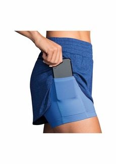 """Brooks Rep 3"""" 2-In-1 Shorts"""