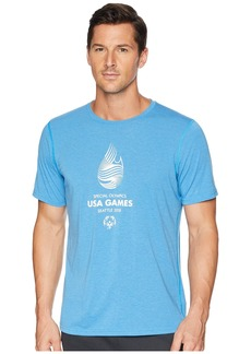 Brooks USA Games Event Short Sleeve