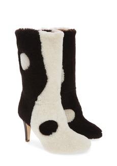 Brother Vellies Yin Yang Genuine Shearling Boot (Women)