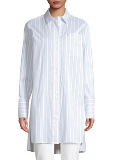 Brothers Marvin Oversized Striped Boyfriend Shirt