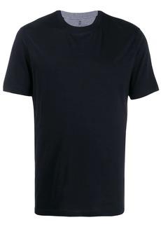 Brunello Cucinelli grey trim crew neck T-shirt
