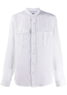 Brunello Cucinelli band collar shirt