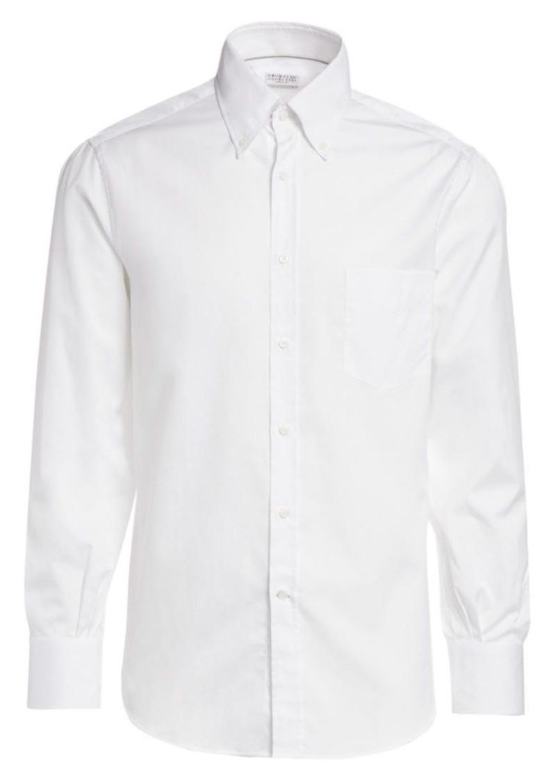 Brunello Cucinelli Basic-Fit Shirt