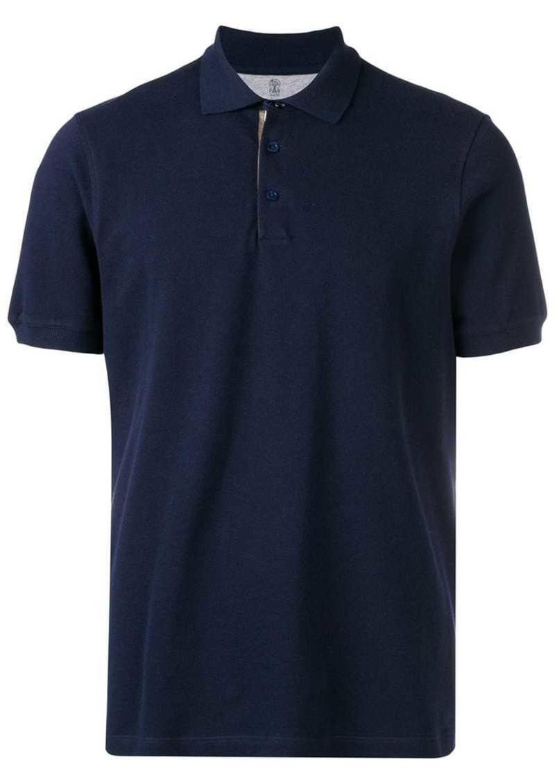 Brunello Cucinelli basic polo shirt