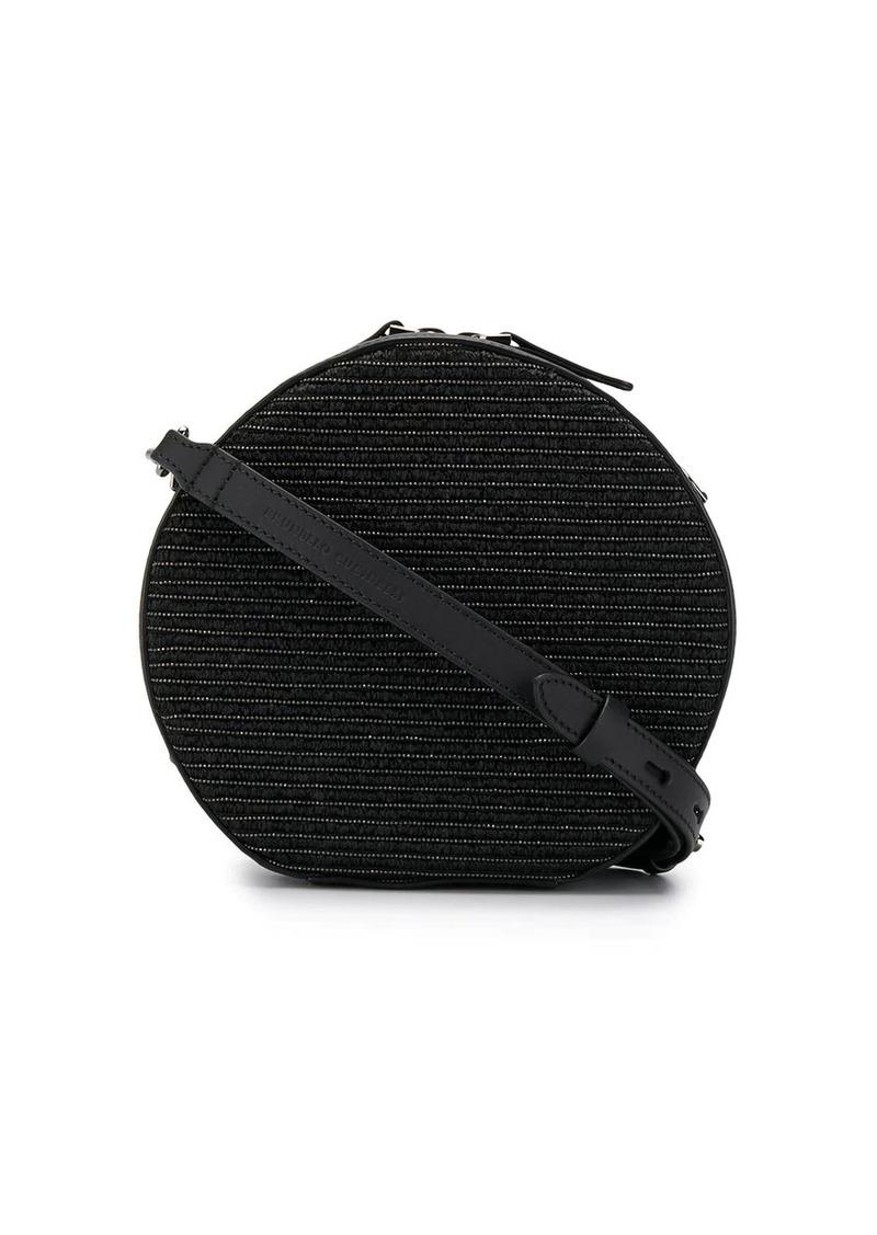 Brunello Cucinelli bead-embellished circle bag