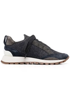 Brunello Cucinelli bead-embellished low top sneakers