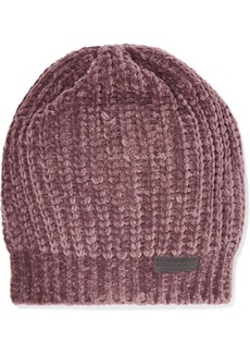 Brunello Cucinelli Bead-embellished Ribbed Cashmere-blend Beanie