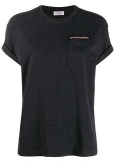 Brunello Cucinelli bead-embellished T-shirt