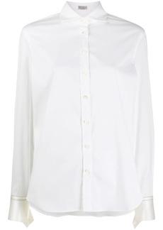 Brunello Cucinelli beaded detail shirt