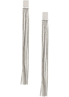 Brunello Cucinelli beaded fringe earrings