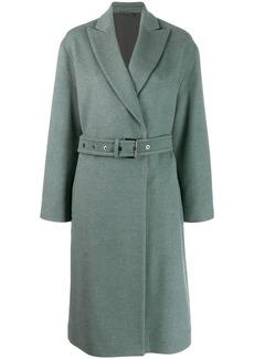 Brunello Cucinelli belted cardigan coat