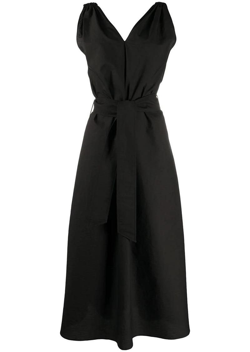 Brunello Cucinelli belted maxi dress