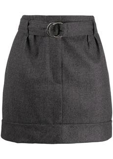 Brunello Cucinelli belted mini skirt