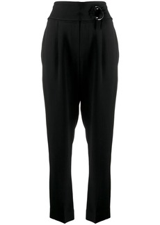 Brunello Cucinelli belted tailored trousers
