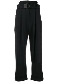 Brunello Cucinelli belted waist trousers