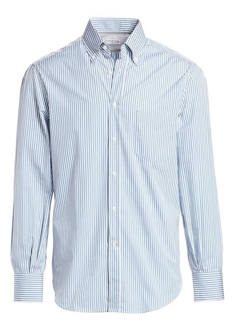 Brunello Cucinelli Bengel Stripe Sport Shirt