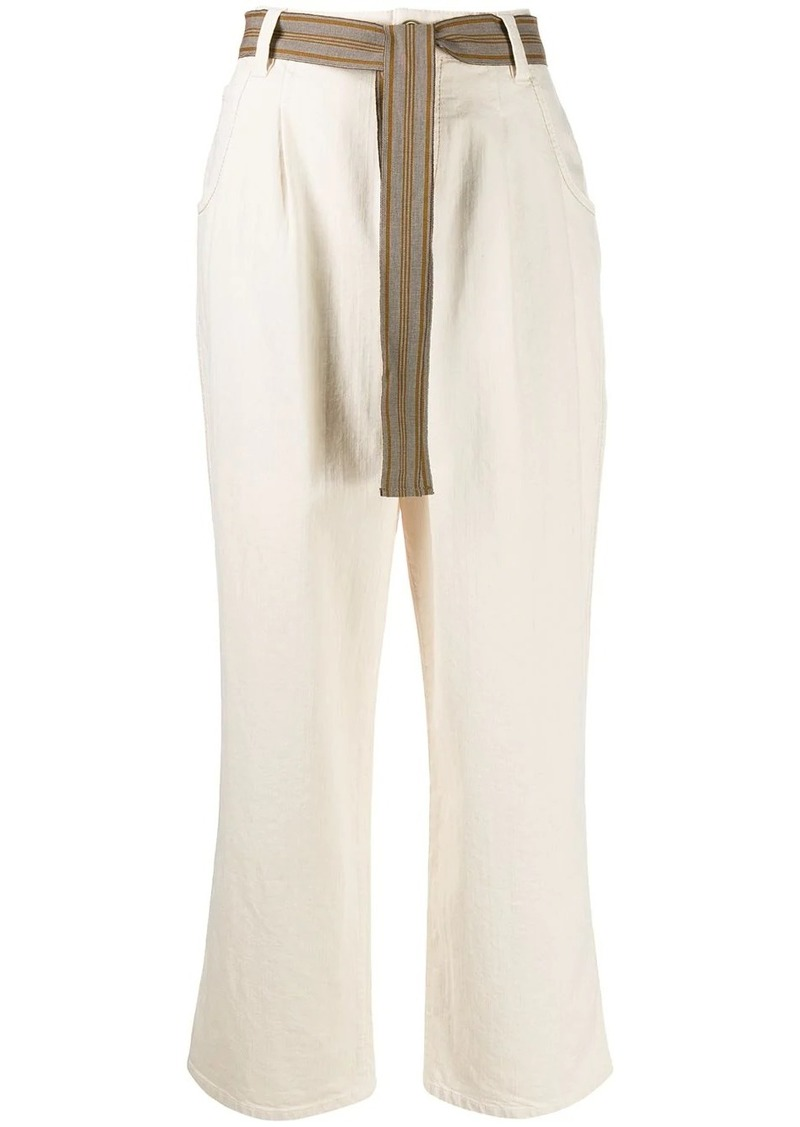 Brunello Cucinelli boot-cut trousers