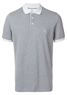 Brunello Cucinelli branded polo shirt