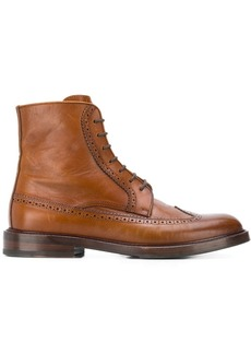 Brunello Cucinelli brogue boots